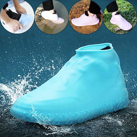 Cobertura de Sapatos à Prova de Água Reutilizáveis