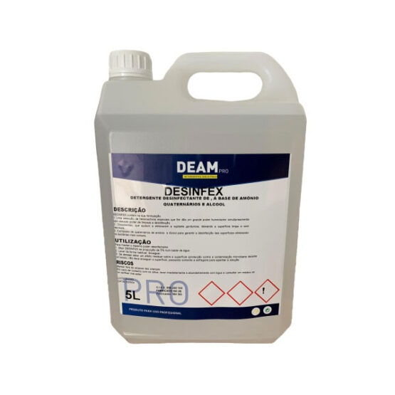 Desinfex 5L – Líquido de Limpeza Desinfectante