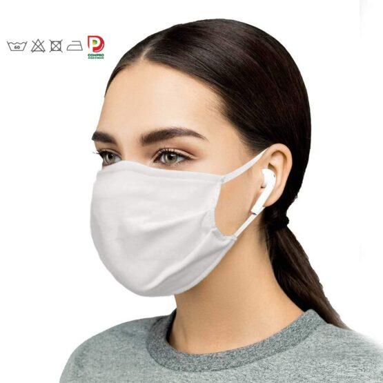 5 Máscaras Faciais de 1 Camada p/ Uso Social