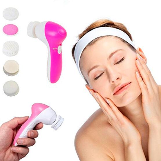 Escova de Limpeza e Massagem Facial