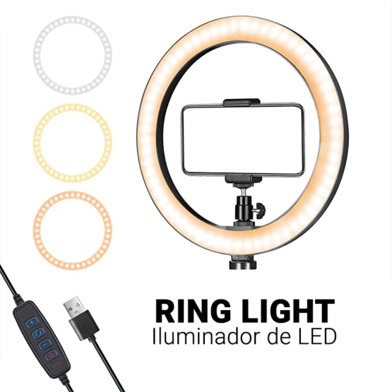 Ring Light – Iluminador de LED
