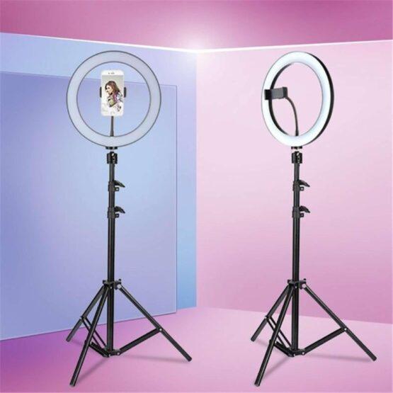 Kit Completo Ring Light Com Tripé 210 cm Youtuber / Instagram / Tik Tok Selfie Pro
